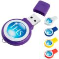 2 GB Circle USB 2.0 Flash Drive