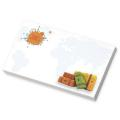 "BIC&#174 Ecolutions&#174 5"" x 3"" Adhesive Notepad, 100 Sheet"