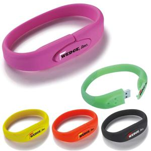 1 GB Bracelet USB 2.0 Flash Drive