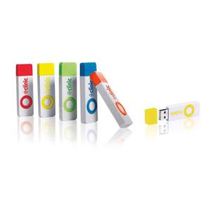 1 GB Color Pop USB 2.0 Flash Drive