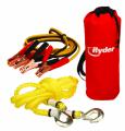 """Booster Cable/Tow Rope Combo Kit"""