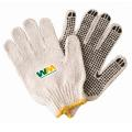 """Cotton/Poly Gloves with Rubber Grip Dots"""
