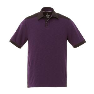 (M) LARAMIE Short Sleeve Polo (men, blank)