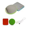 2000 mAh Ultrathin Portable Charger/Mirror - Light Green