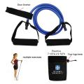 "Exercise Stretch Bands For Resistance Training, Rope Length 47"" - Blue"
