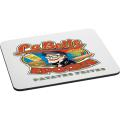 "1/4"" Rectangular Rubber Mouse Pad"