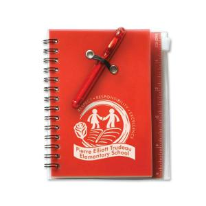 All In One Eco Jotter W/Pen - 1 Color 1 Location