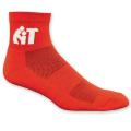 Colored High Performance Quarter Moisture Wicking Sock