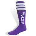 Colored Full Cushion Tube Sock with Knit-In Logo